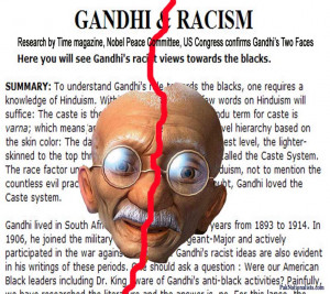 Gandhi praised Hitler and asked all European Jews to commit mass ...