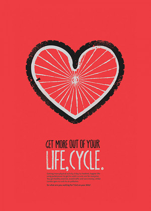 Enjoy the journey on your bicycle.