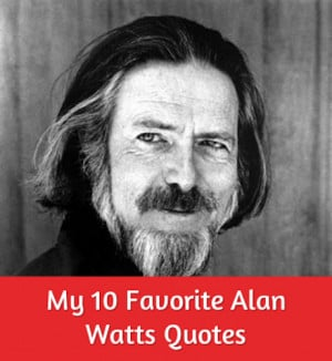 Alan Watts, known for spreading Eastern philosophy in the West via his ...