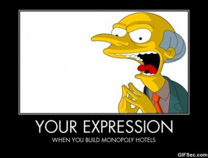 Mr Burns - Funny Pictures, MEME and Funny GIF from GIFSec.com