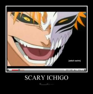 Hollow Ichigo And Zangetsu...