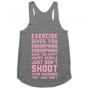 Tanks and Workout Wear With Motivational Quotes