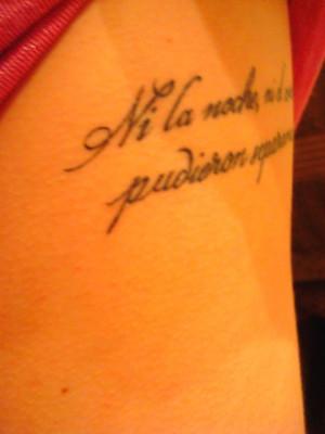 Spanish Tattoo by micielo33