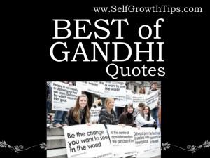 Best of Gandhi Quotes PPT