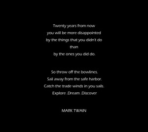 Black Quotes About Life And Death: Mark Twain Quote About How To Reach ...