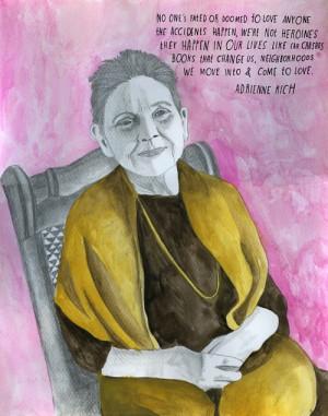 Adrienne Rich, reconstructionist