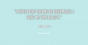 Quotes About Nightmares And Dreams