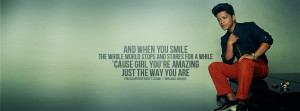 Bruno Mars Just The Way You Are Quote Bruno Mars Grenade Quote