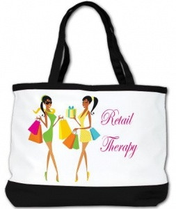 Retail Therapy shopping bag~