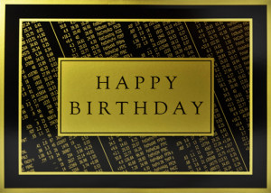 ... CARDS / BIRTHDAY CARDS / All Birthday / Black and Gold Stock Quotes