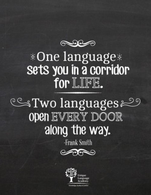 Learn a second language and doors will open - Unique Language Academy ...