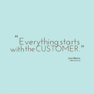 Quotes About: customer service