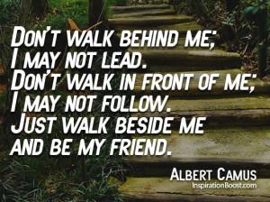 Friendship Quotes Albert Camus