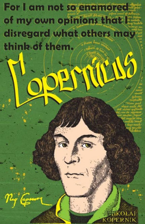 Nicolaus Copernicus Print 11x17 - Famous Seniors