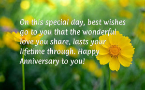 Dear Parents Happy Anniversary Wishes Smile Quotes