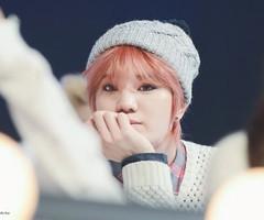 Sungjong Pink Hair