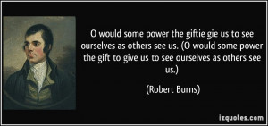More Robert Burns Quotes