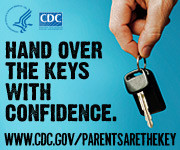 cdc poster: Hand over the keys with confidence