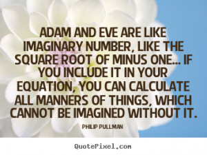 Quotes About Adam and Eve