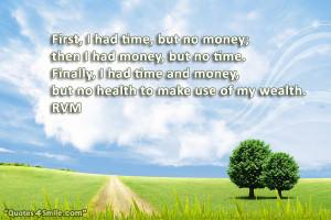 No Money Quotes
