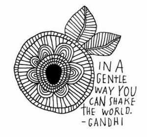 ... You Wish to See in the World 4x6 Gandhi Quote INSTANT DOWNLOAD