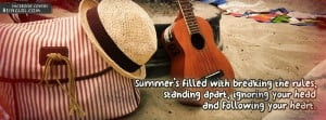 Summer Quotes Facebook Timeline Cover