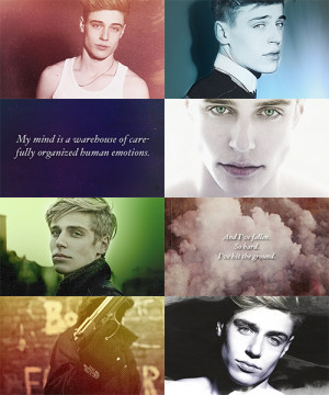 Shatter Me Fancast // Tim Borrmann as Aaron Warner