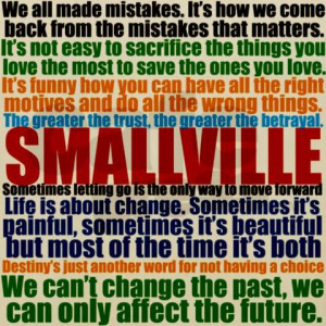Smallville Quotes Blanket Wrap on