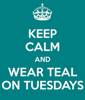 Ovarian Cancer Poster Quotes | Teal Tuesdays for Ovarian Cancer ...