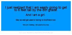 Having A Tall Boyfriend Quotes