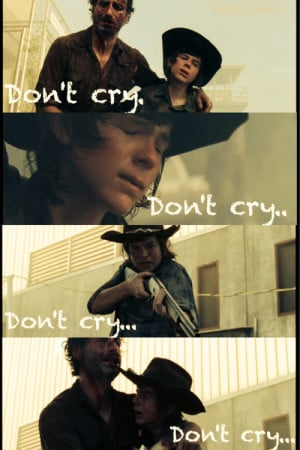 carl walking dead quotes