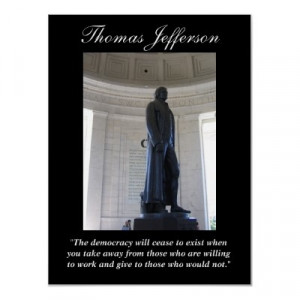 The Democracy Will Cease Exist ~ Democracy Quote