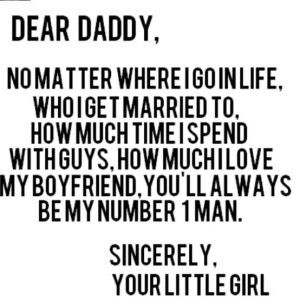 Daddy's Little Girl – Father's Day Quotes