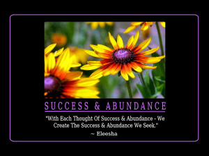 Success & Abundance Quotes and Affirmations by Eleesha [www.eleesha ...