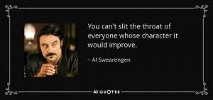 Al Swearengen Quotes