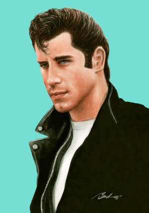 ... if you want to call him a greaser like travolta from grease then fine