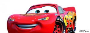 Lightning Mcqueen Cars Movie facebook cover