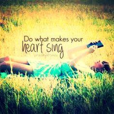 Singing Quotes