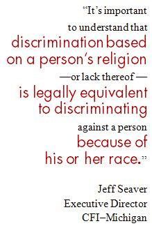discrimination in religion essays