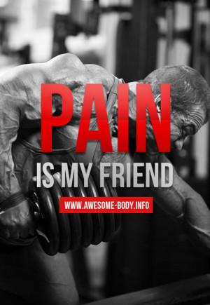 Pain Quotes | Bodybuilding Quotes