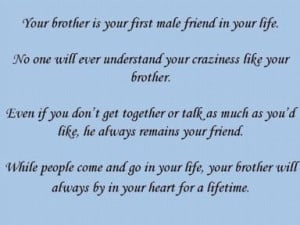 ... About Your Brother | My Quotes Home – Quotes About Inspiration