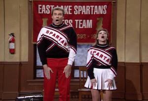 Saturday Night Live: Will Ferrell and Cheri Oteri as The Spartans ...