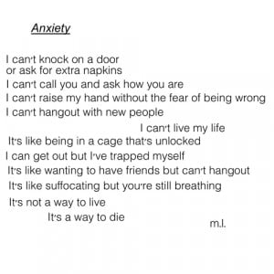tumblr sad quotes anxiety Grunge poems