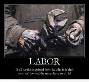 Pictures Of The Working-Hard Hand Carrying A Wrench With The Labor ...