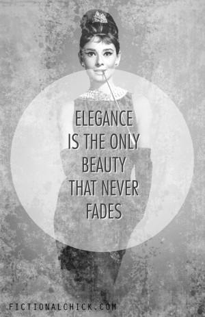 Audrey Hepburn Elegance Quote Audrey hepburn #quotes #