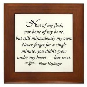 Beautiful adoption quote.