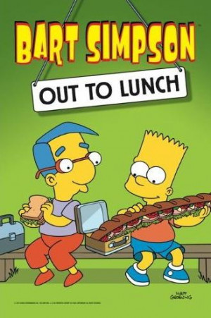 Bart Simpson Out Lunch