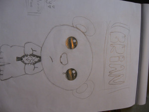 Sad Teddy Bear 2011 Drigirl 14 Drawing Picture