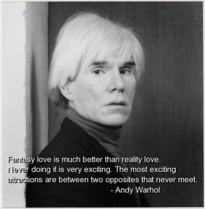 Andy warhol, best, quotes, sayings, famous, love, cute