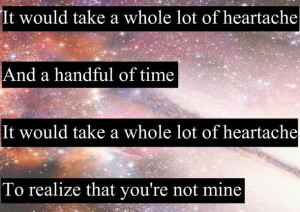note in your pocket, handful, heartache, love, lyric, lyrics, music ...
